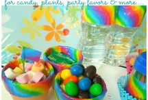Duct Tape Party Decorations / Party decorations using duct tape. Craft ideas for home made from duct tape and washi tape.