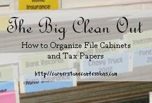 The big clean out/taxes