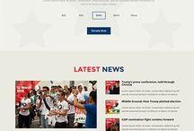 political websites