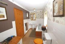 Bathrooms / Small downstairs cloakroom and upstairs bathroom