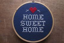 cross stitch - home