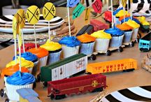 Trackless Train & Train Bouncer Party Ideas / Kids love train. Check out our trackless train, and train inflatable.