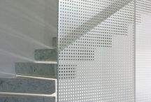 Perforated metal design