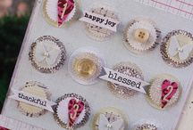 DIY Crafts and Embellishments / Handmade embellishments for cards and scrapbooking.