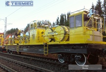 RAILWAY EQUIPMENT / Tesmec offer a complete range of equipment for Catenary installation, maintenance and diagnostic for traditional and high speed railway lines.