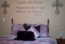 Guest Bedroom  / My Girly Guest Bedroom / by Toni Smelley