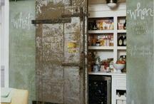vintage / industrial interior