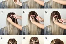hairstyles / best trendy hairstyles and tutorials
