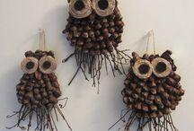Pine cone craft