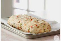 Brote salziges Gebäck Blätterteig