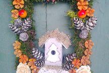karácsonyi dekoráció / karácsony, advent, díszek, gyertyák https://www.facebook.com/m.virag.studio?ref=hl
