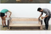 wooden diy sofa