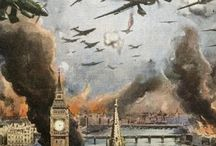 Great Paintings / London bombed during the Blitz