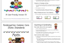 kinder common core / by Mariam Farhat