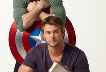 Heróis / Heróis - Thor - Capitão América - Gavião Arqueiro