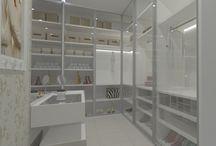 Closets / Ambientes desenhados pelo site www.seusonhodesenhado.com