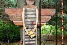 angelo con persiana in legno