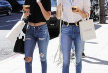 Skinny Jeans Street Style