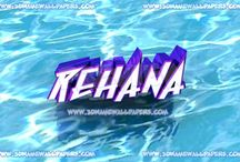 rehana / me