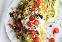 """My health is in my plate / Un peu moins de viande, un peu moins de lait et de gluten. Un peu plus de fruits, légumes, légumineuses et céréales. Des recettes """"santé""""."""