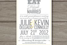Invitation Ideas / by Lianne O