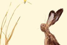 Peintre (Catherine Rayner) / Dessin, aquarelle animalier (univers naïf pour les enfants)