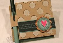 Note holder / by Elizabeth Kowal