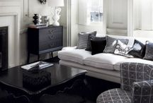 /// DECO - BLACK & WHITE / Decoration &  interior design with only black and white colors