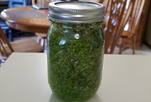 My first pesto