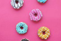 dolcetti e cibo a crochet