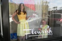 Flourish Window display / by Teresa Andersen