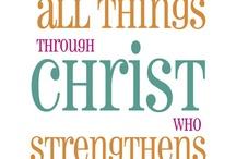 Jesus is my strength