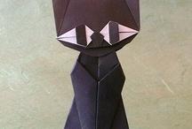 Gatto Di Origami