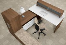 All About the Desk / Office desk solutions and design ideas