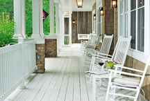 Outdoor Living: Porch Inspiration / by Katelyn Brotherton