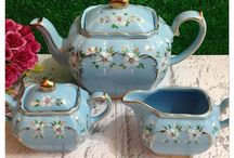 Tea Makes Everything Better / Beautiful tea pots and cups