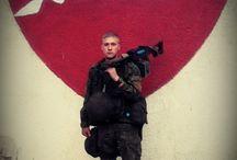 Rusia soldier in Suriah