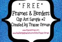 Clip Art, Frames, Borders