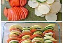 zöldséges étel