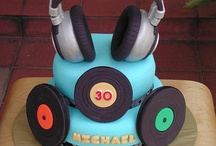 Music Cakes / by Jay Churches