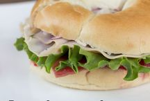 Food- Sandwiches and wraps / by Barb Sloan Bonfiglio