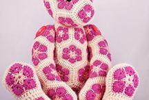 Crochet hexagons / Crochet