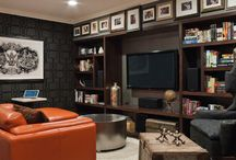 husband's man room / by Michelle Odle