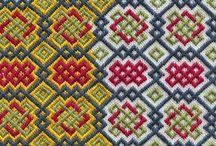 brick stitch--- celtic