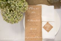 Rustic On the Day Wedding Shoot / A collaboration between The Little Stationery House, Nuptia Wedding Planning and RJH Photography
