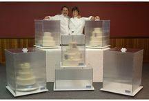 Cake transportation boxes