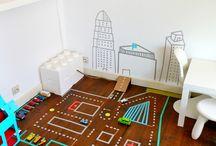 Kinderzimmer spielen
