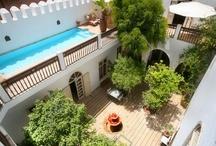 Riads in Marrakech / by Isadora Carrel