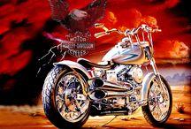 My favourite Harleys
