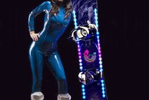 LED Snowboard Europe / New innovative high tech and high quality LED Lighting system for Snowboard